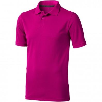 ELEVATE Herren Poloshirt Calgary, rosa, S