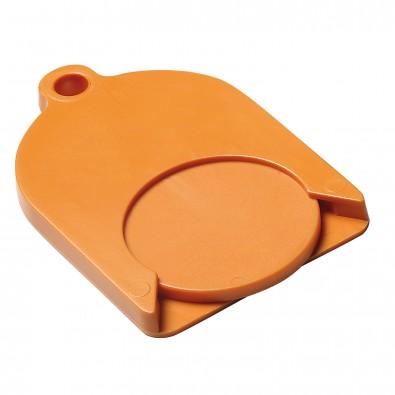 Chip-Schlüsselanhänger Ghost mit Chip, standard-orange