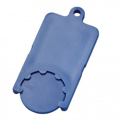 Chip-Schlüsselanhänger Rectangle, standard-blau PS
