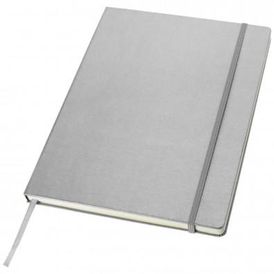 Classic Executive DIN A4 Notizbuch, silber