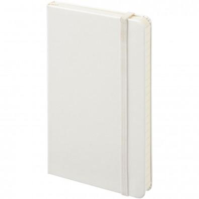 Moleskine Classic Hardcover Notizbuch Taschenformat – blanko, weiss