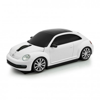 Computermaus VW Beetle 1:32 weiß