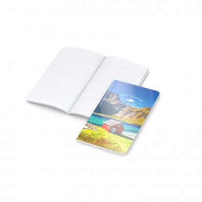 Copy-Book White Pocket Bestseller, 4C-Digital, gloss-individuell