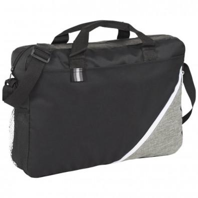 Corner Pocket Konferenztasche, schwarz,weiss