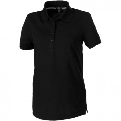 Crandall – Poloshirt für Damen, schwarz, L