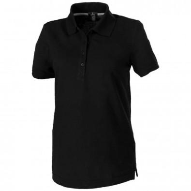 Crandall – Poloshirt für Damen, schwarz, S