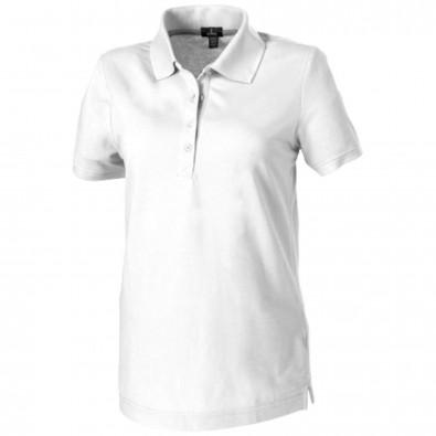 Crandall – Poloshirt für Damen, weiss, L
