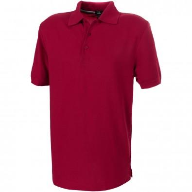 ELEVATE Herren Poloshirt Crandall, rot, XXL