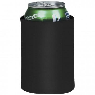 Crowdio zusammenklappbare Getränke Isolierung, schwarz