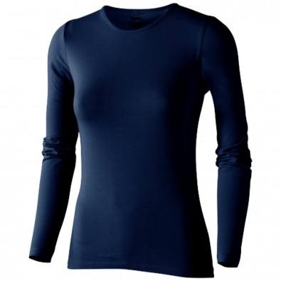 Curve – Langarmshirt für Damen, navy, S