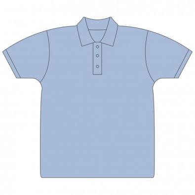 Damen-Polohemd GD Premium Cotton®,Light Blue