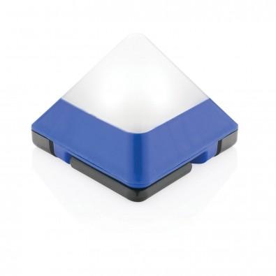dreieckige Minilaterne, blau