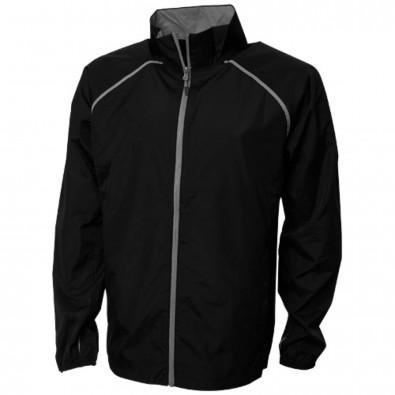 Egmont leichte, verstaubare Jacke für Herren, schwarz, XS