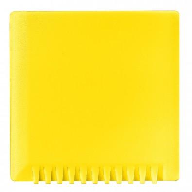 Eiskratzer Quadrat ohne Wasserabstreifer, standard-gelb
