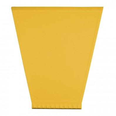 Eiskratzer Trapez, standard-gelb