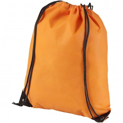 Evergreen Premium Non Woven Sportbeutel, orange