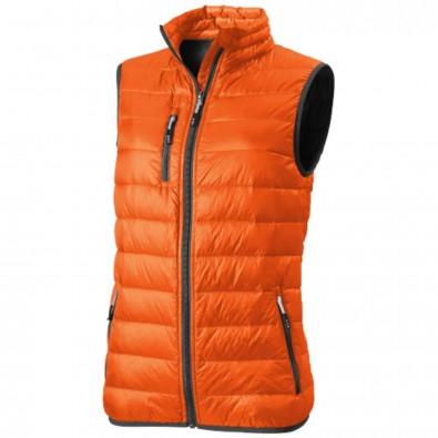Fairview Damen leichter Daunen Bodywarmer, orange, S