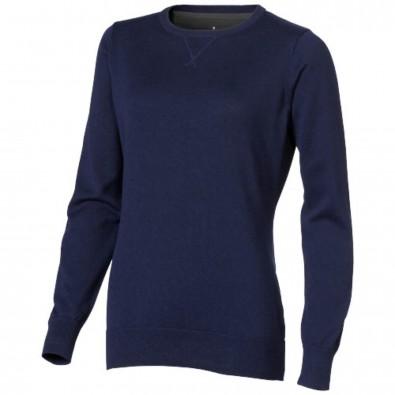 Fernie Damen Pullover mit Rundhalsausschnitt, dunkelblau, S