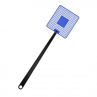 Fliegenklatsche Logo, trend-blau PP