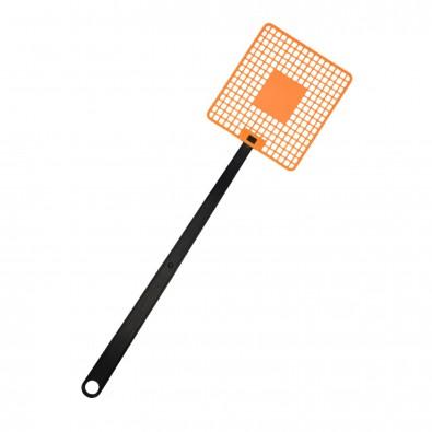 Fliegenklatsche Logo, trend-orange PP