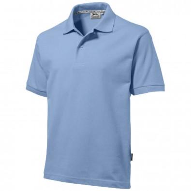 Forehand – Poloshirt für Herren hellblau | XXL