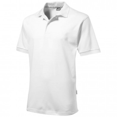 Forehand – Poloshirt für Herren, weiss, XL