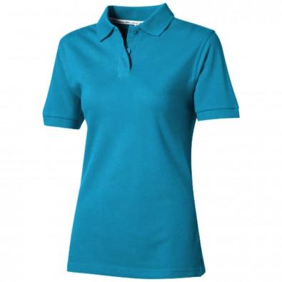 Forehand Poloshirt für Damen, türkis, L