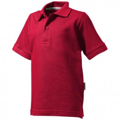 Forehand Kinder Poloshirt, dunkelrot, 140