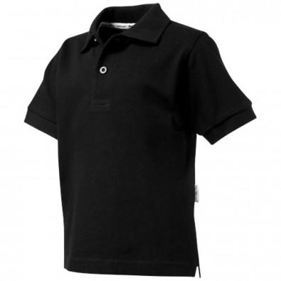 Forehand Kinder Poloshirt, schwarz, 140
