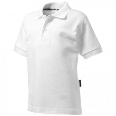 Forehand Kinder Poloshirt, weiss, 164