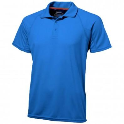 Game Sport Poloshirt cool fit für Herren, himmelblau, L