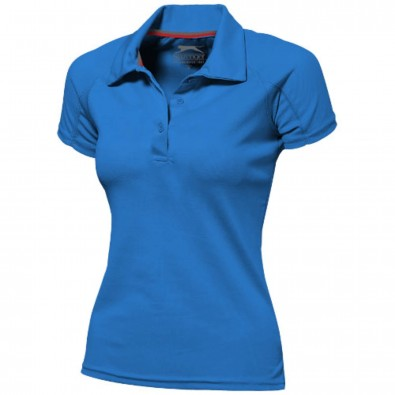 Game Sport Poloshirt cool fit für Damen, himmelblau, L