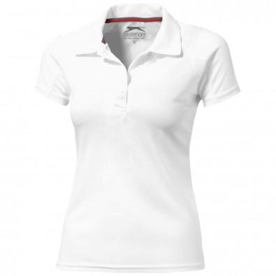 Game Sport Poloshirt cool fit für Damen, weiss, L