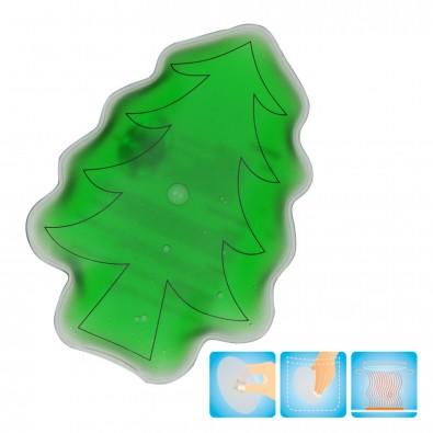 """Gel-Wärmekissen """"Weihnachtsbaum"""", grün"""