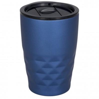 Geo 350 ml Kupfer-Vakuum Isolierbecher, blau