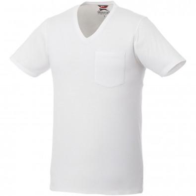 Gully T-Shirt mit Tasche für Herren, weiss, M
