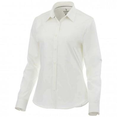 Hamell langärmlige Bluse, weiß, XL