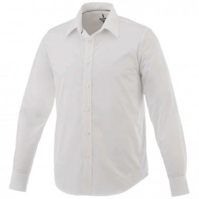 Hamell langärmliges Hemd, weiß, L