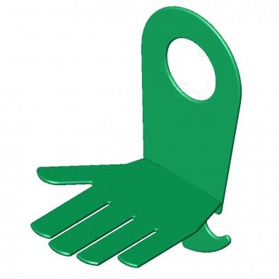Handy-Ablage PowerPort Holder, standard-grün, Hand
