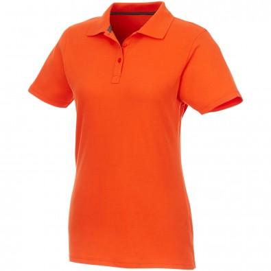 ELEVATE Damen Poloshirt Helios, orange, XS