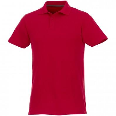 Helios Kurzarm Poloshirt für Herren, rot, 3XL