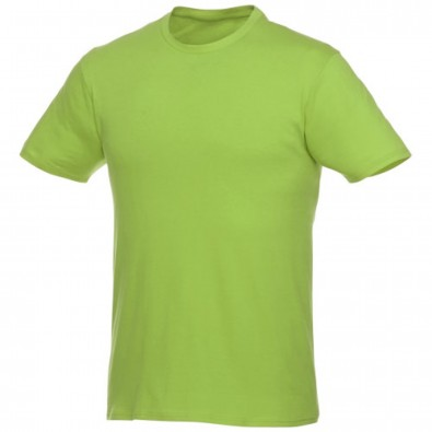 Heros kurzärmliges T-Shirt Unisex, apfelgrün, M