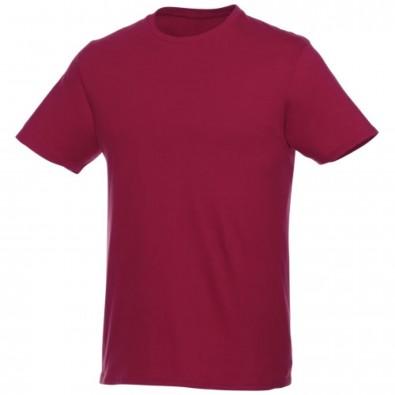 Heros kurzärmliges T-Shirt Unisex, bordeaux, XS
