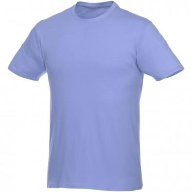 Heros kurzärmliges T-Shirt Unisex, hellblau, S