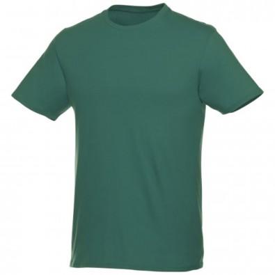 Heros kurzärmliges T-Shirt Unisex, waldgrün, XXS