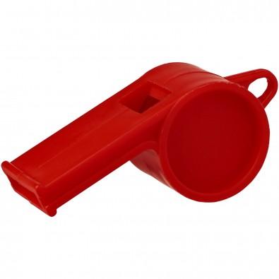 Hoot traditionelle Schiedsrichterpfeife, rot