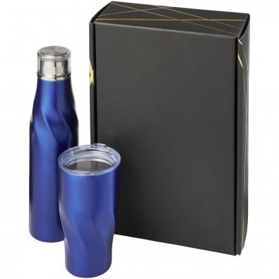 Hugo Kupfer-Vakuum isoliertes Geschenkset, blau