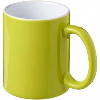 Java 330 ml Keramiktasse, limone,weiss