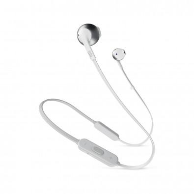 JBL T 205 BT kabellose Ohrhörer Silver