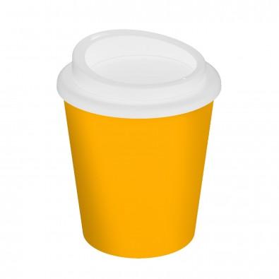Kaffeebecher Premium small, standard-gelb